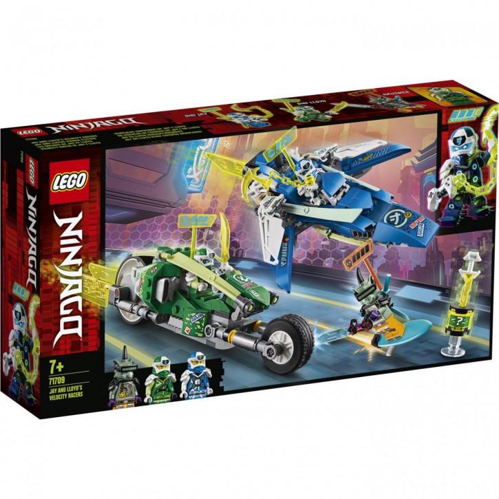 LEGO® NINJAGO® Jay und Lloyds Power-Flitzer