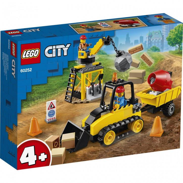 LEGO® City Great Vehicles Bagger auf der Baustelle