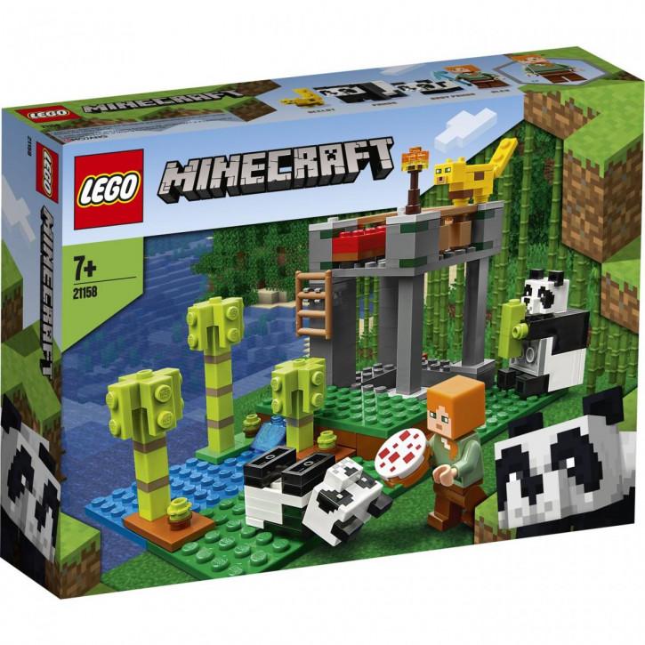 LEGO® Minecraft™ Der Panda-Kindergarten