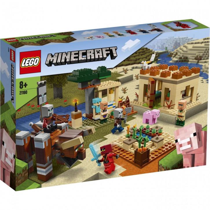 LEGO® Minecraft™ Der Illager-Überfall