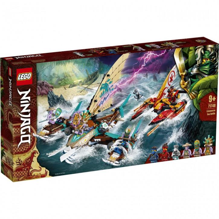 Lego Ninjago Duell der Katamarane