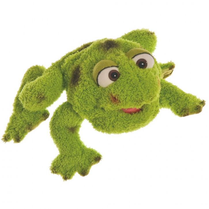 Handspieltier Rolf, Kleiner Frosch