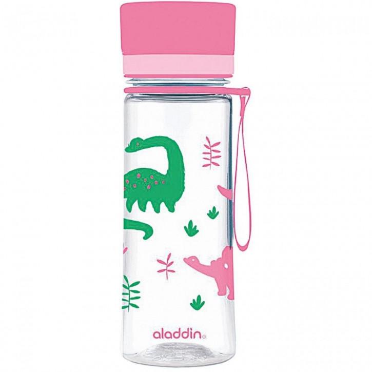 ALADDIN Wasserflasche Aveo mit Grafik 0,35l rosa
