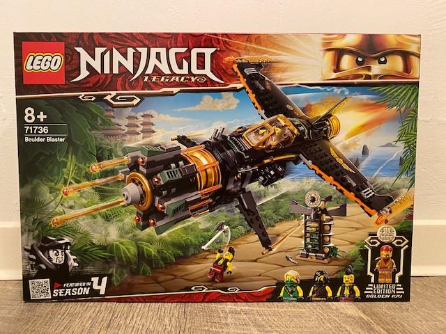 LEGO Ninjago Coles Felsenbrecher