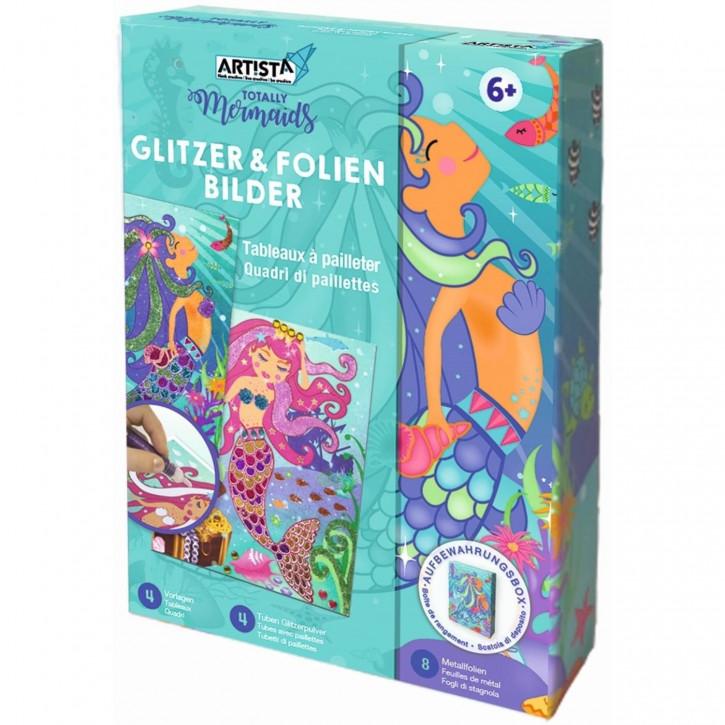 DIY Glitzer & Folien Bilder