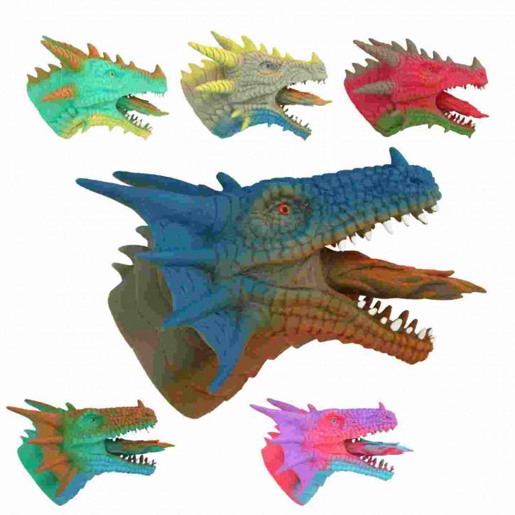 Dino World Handpuppe DRAGON