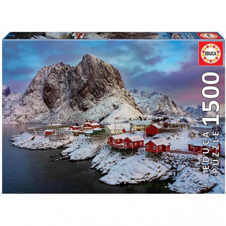 Puzzle 1500 Teile Lofoten-Inseln, Norwegen