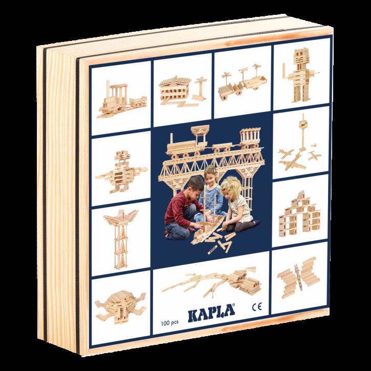 KAPLA Box 100 Teile Natur
