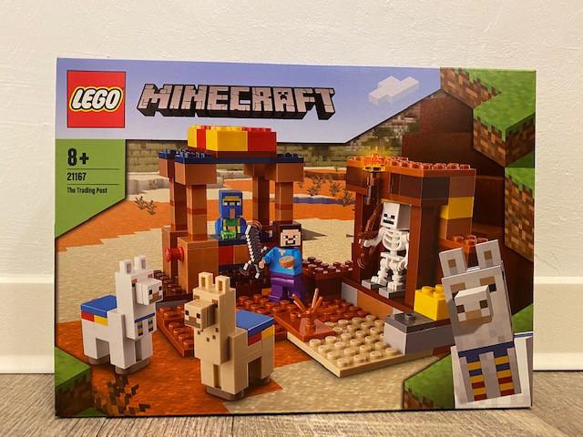 LEGO Minecraft Der Handelsplatz