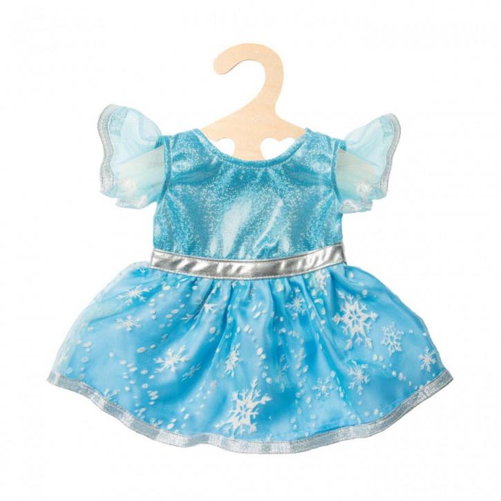 Puppen-Kleid 'Eisprinzessin', klein, Gr. 28-35 cm